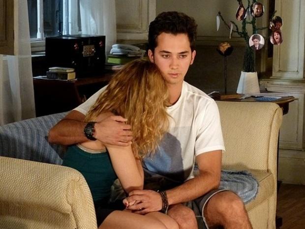 """Em """"Malhação"""", ex-namorada de Ben diz que está grávida"""