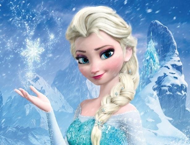 "Pôster de ""Frozen: Uma Aventura Congelante"""