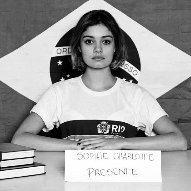 Sophie Charlotte apoia o movimento no Instagram. Além de mostrar a indignação nas redes sociais, o movimento promete levar o povo às ruas na segunda,7