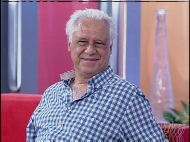 8.out.2013 - Antonio Fagundes durante participação no