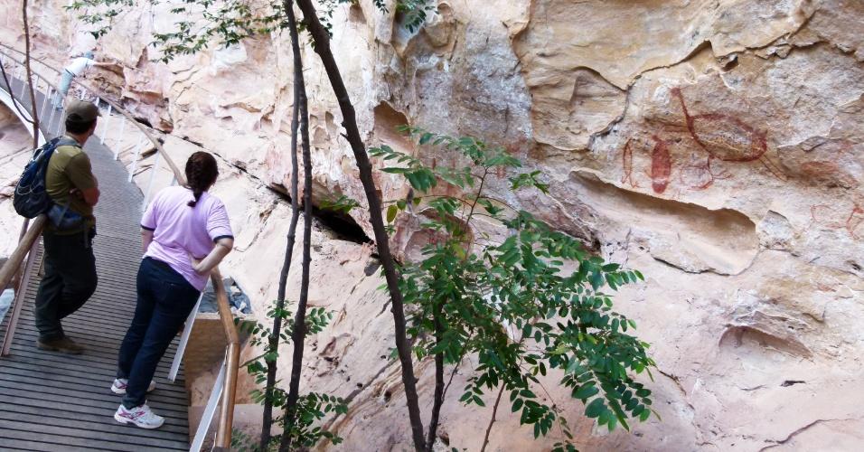 Apesar de ser o principal complexo arqueológico do Brasil, o Parque Nacional Serra da Capivara recebe apenas 20.000 visitantes por ano