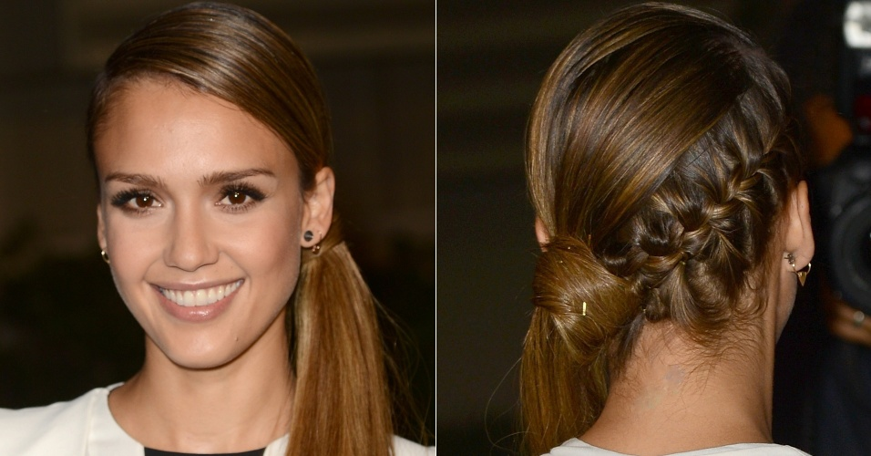 Jessica Alba - penteados