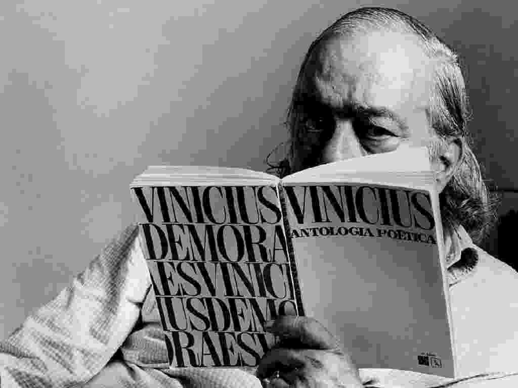 Vinicius de Moraes lê o próprio livro - Divulgação