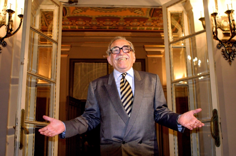 28.abr.2005 - Escritor colombiano Gabriel García Márquez em Barcelona