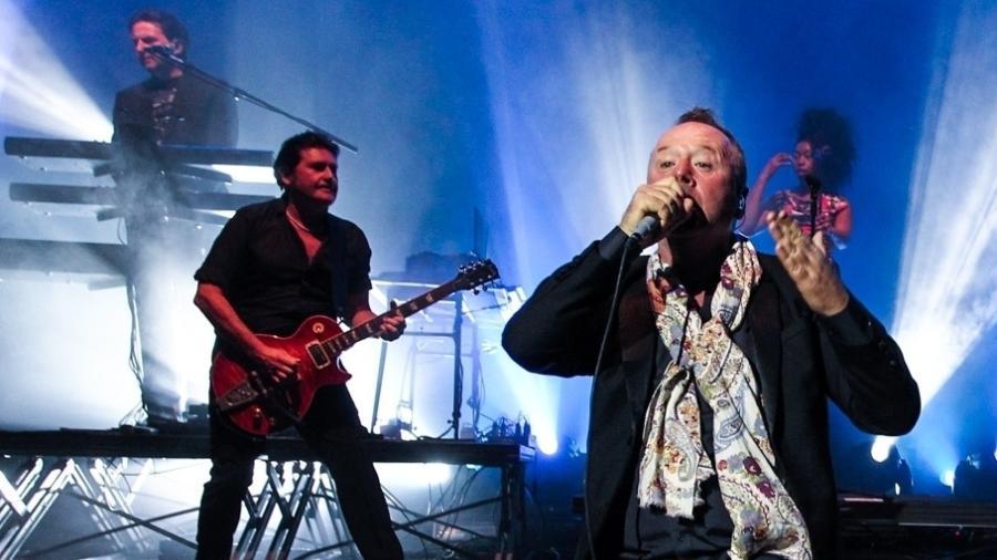 O grupo escocês Simple Minds se apresenta em São Paulo em 2013 - Manuela Scarpa/Foto Rio News