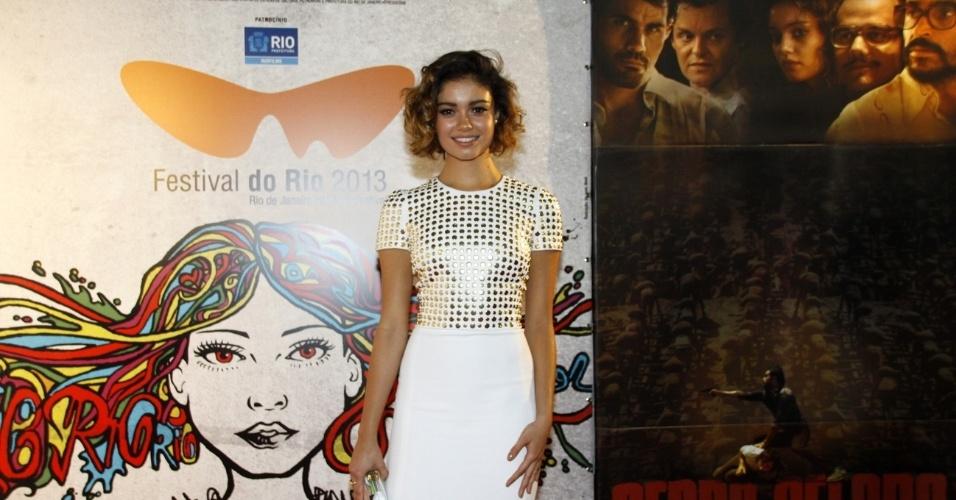9.out.2013 - No 9.out.2013 - Sophie Charlotte marca presença na exibição do filme