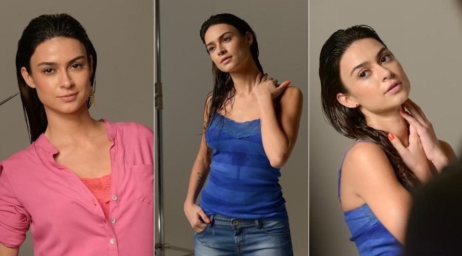 10.out.2013 - Thaila Ayala é a garota propaganda da coleção de alto verão de uma grife feminina