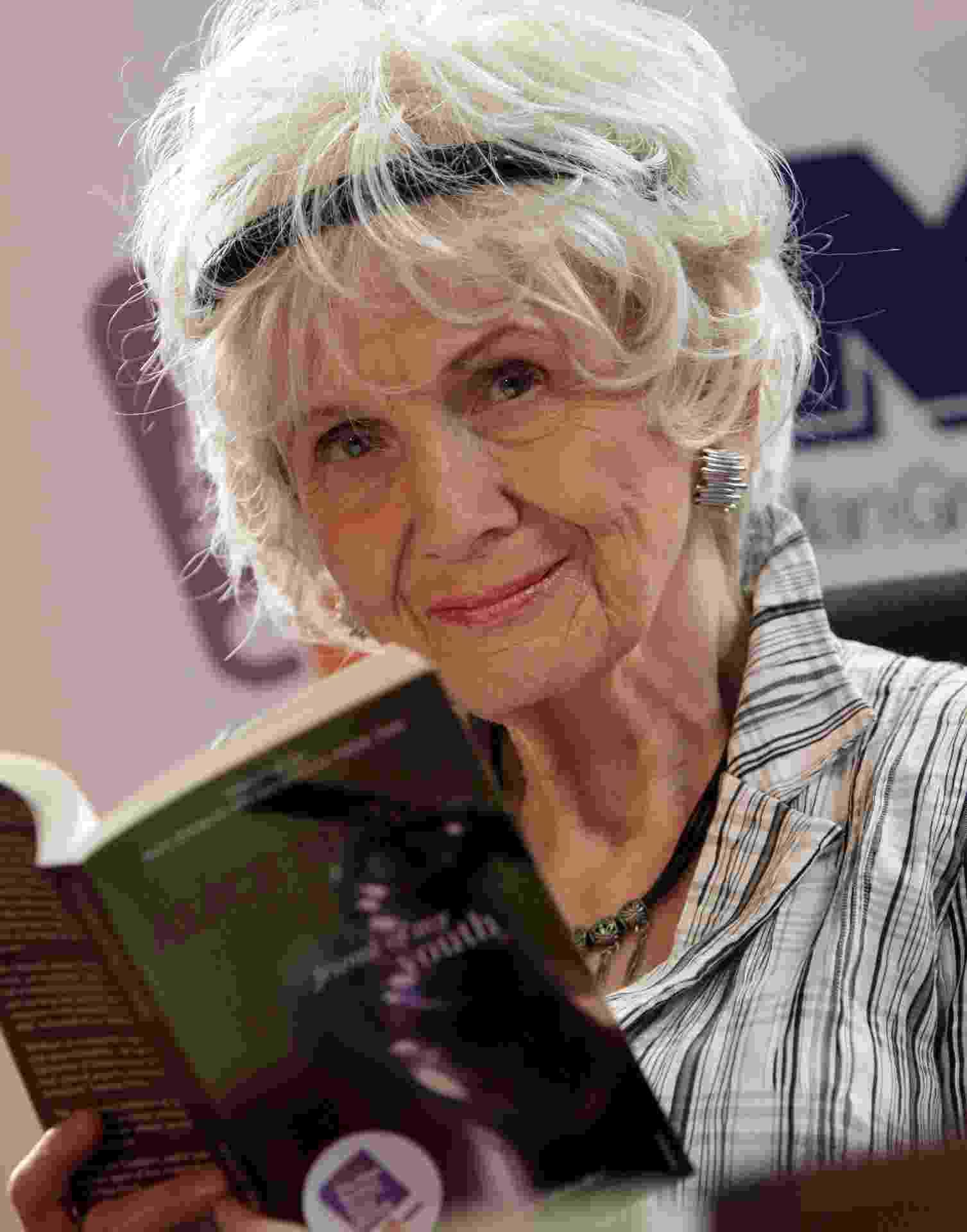 25.jun.2009 - Alice Munro, vencedora do Nobel de Literatura 2013  - Peter Muhly/AFP