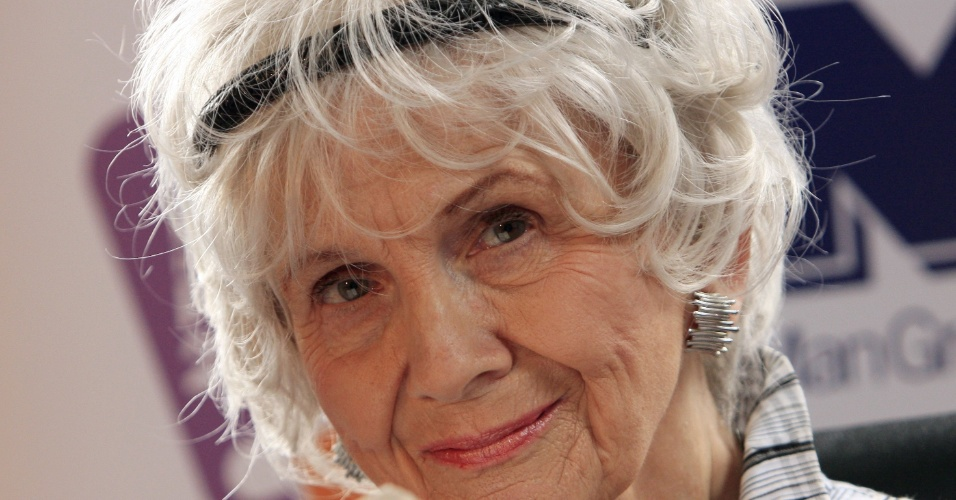 25.jun.2009 - Alice Munro, vencedora do Nobel de Literatura 2013