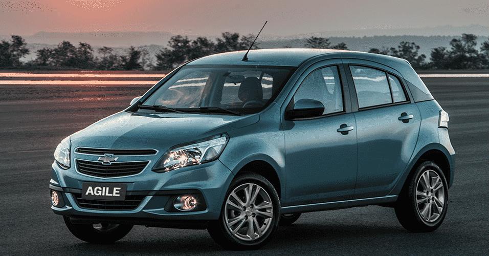 Chevrolet Agile 2014 - Divulgação