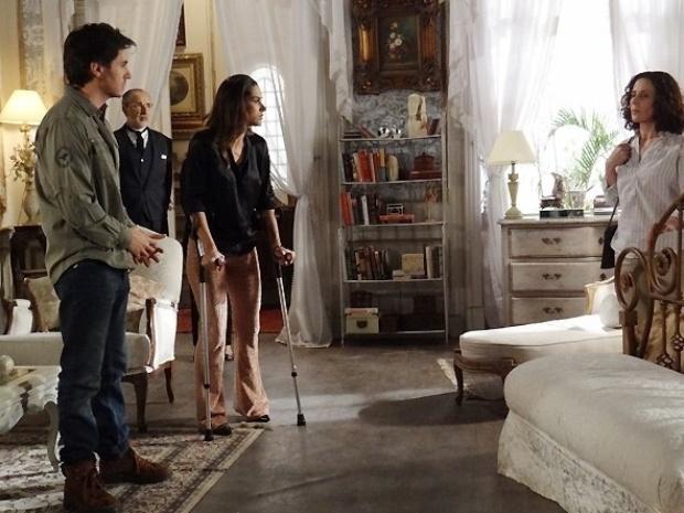 """Em """"Amor à Vida"""", médium diz a Thales que Nicole quer falar com ele"""