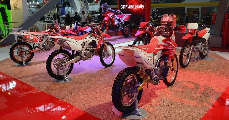 Motocicletas off-road da Honda
