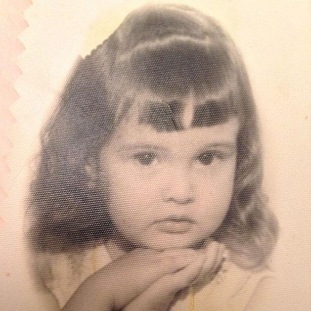 11.out.2013 - Fátima Bernardes exibe foto de criança no Instagram.