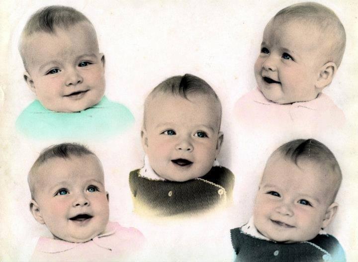 11.out.2013 - Na véspera do Dia das Crianças, Angélica mostra fotos da infância