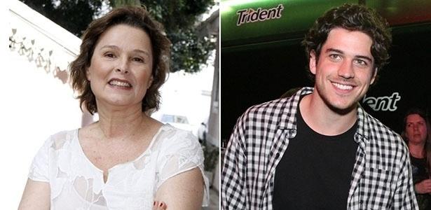 Louise Cardoso e Marco Pigossi vão atuar juntos no teatro