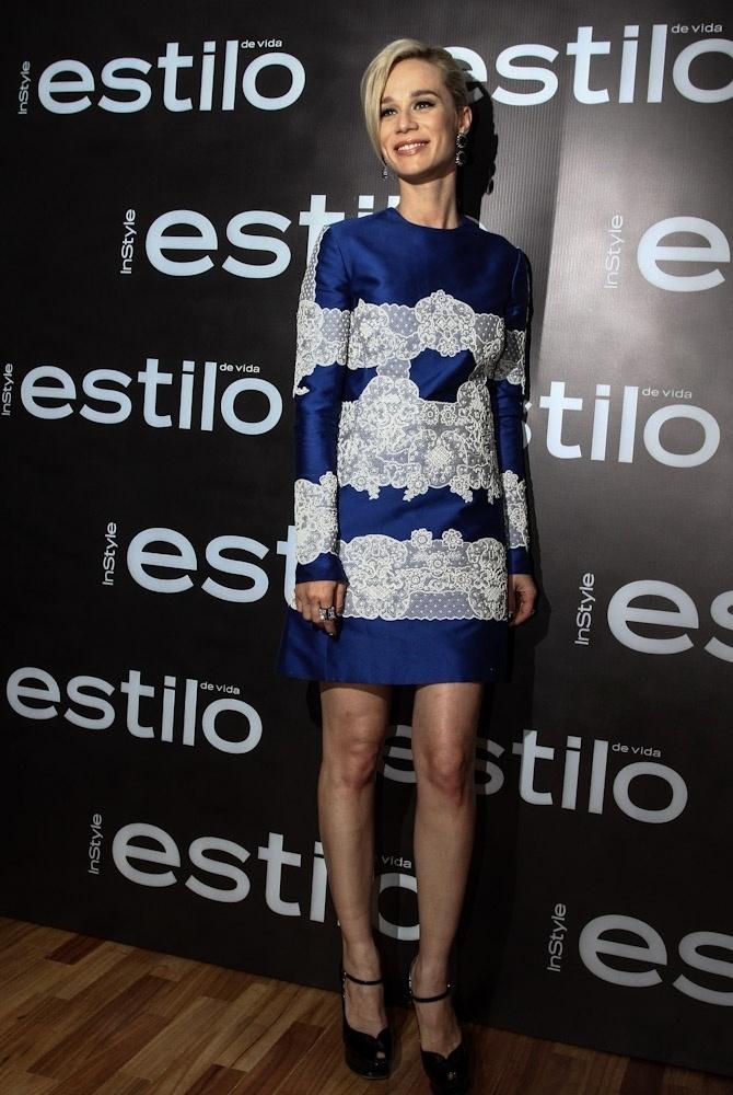"""11.out.2013 - Mariana Ximenes marca presença em um coquetel da revista """"Estilo"""", no hotel Unique"""