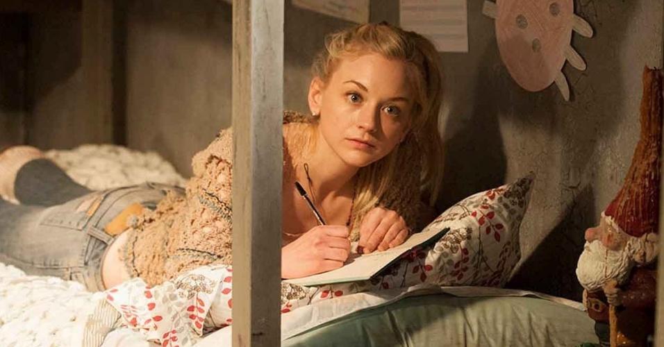 """Beth Greene (Emily Kinney) em cena do primeiro episódio da quarta temporada de """"The Walking Dead"""""""