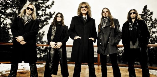 A banda inglesa Whitesnake - Divulgação