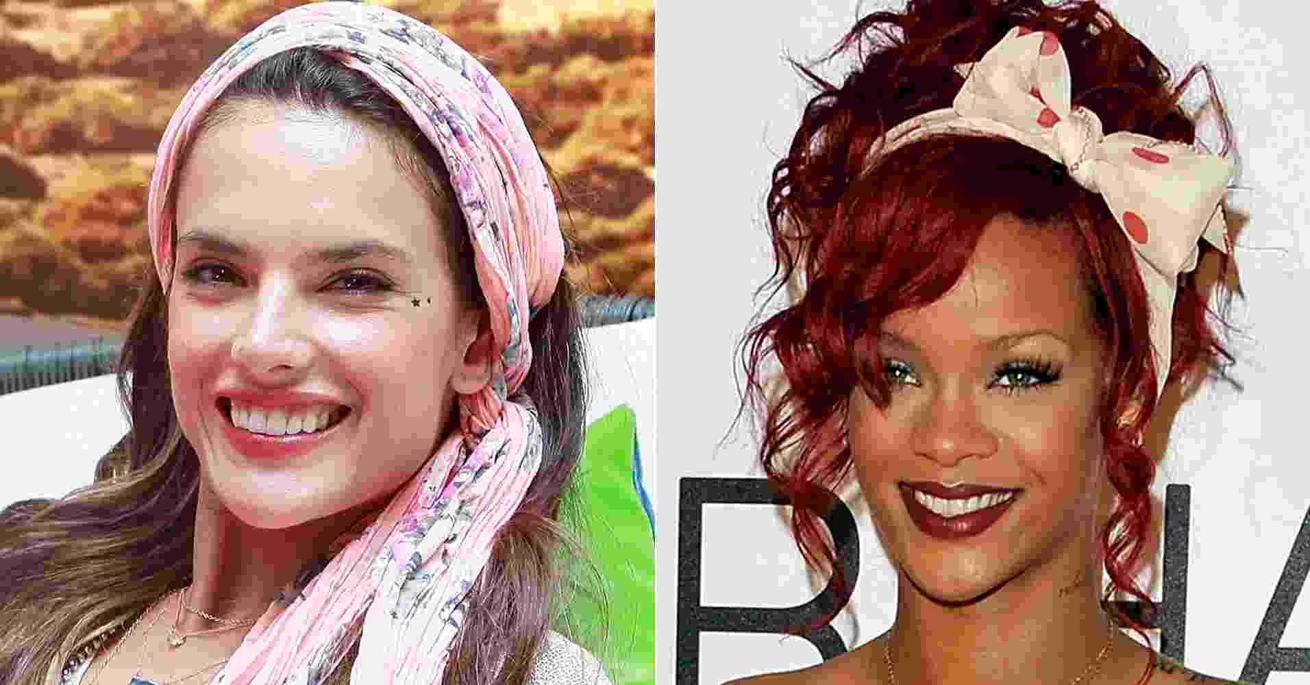 Alessandra Ambrósio e Rihanna - Getty Images/Montagem/UOL
