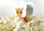 Faça boneco 3D das Pipocas Alienígenas de Foodland