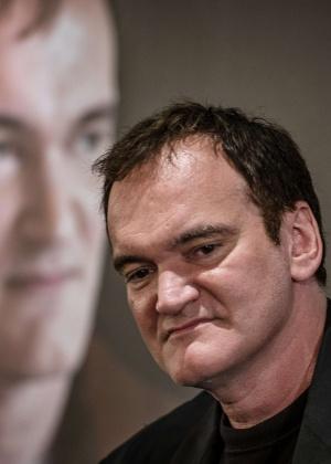 Quentin Tarantino fala à imprensa na abertura do Festival Lumiere em Lyon, na França - Jeff Pachoud/AFP