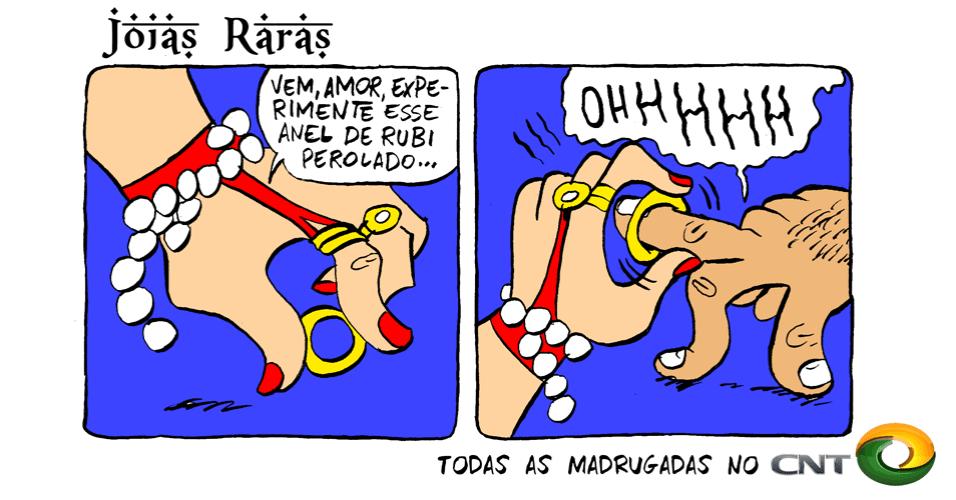 "16.out.2013 - TV Lama apresenta a novela ""Joias Raras"""