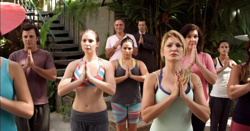 A atriz Antonia Fontenelle faz participação especial na série