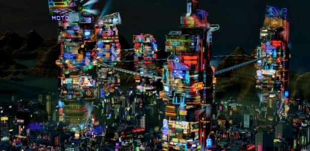 Cena do jogo SimCity - Divulgação