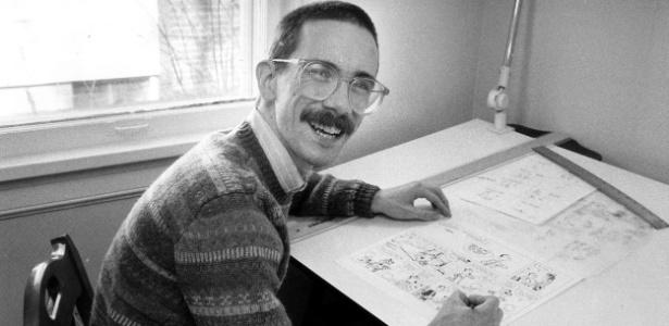 """Bill Watterson, o criador da tirinha """"Calvin e Haroldo"""" - Divulgação"""