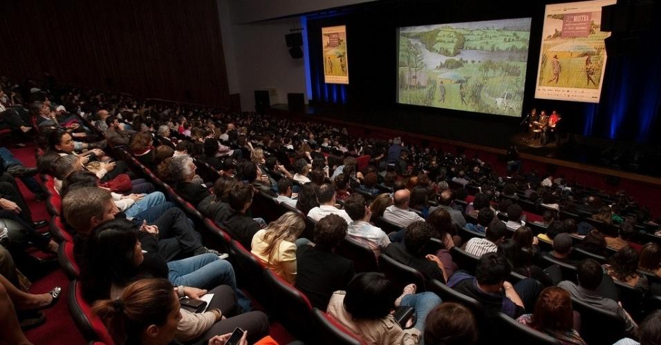 17.out.2013 - Abertura da Mostra de São Paulo no Auditório Ibirapuera