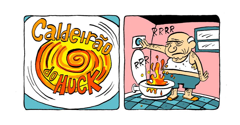 """21.out.2013 - TV Lama faz a sua versão do """"Caldeirão do Huck"""""""
