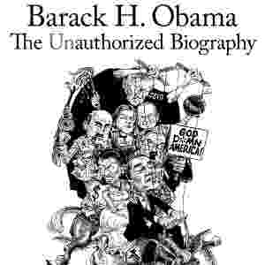 "Capa da biografia ""Barack H. Obama: The Unauthorized Biography"" (2008, Progressive Press), de Webster G. Tarpley - Reprodução"