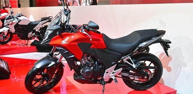 CB 500 X só chega em 2014 -- é tempo suficiente para planejar a compra - Infomoto