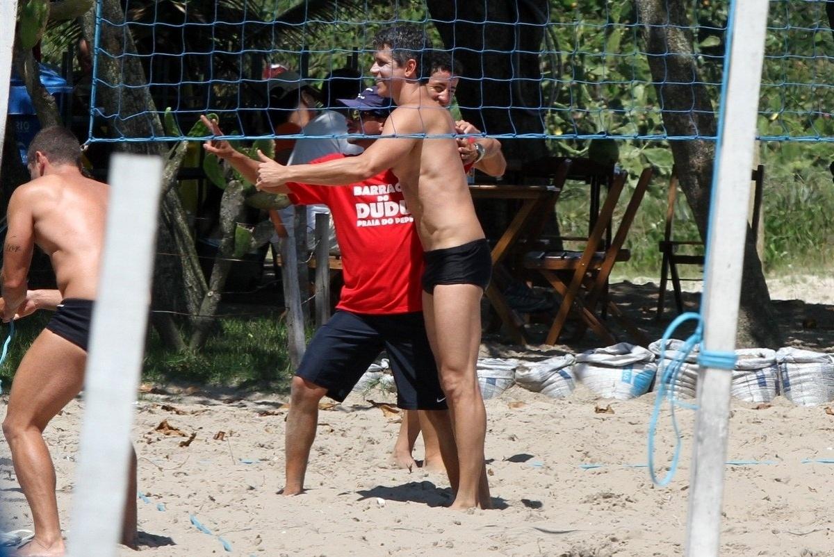19.out. 2013 - Aos 43 anos, Márcio Garcia está em ótima. O galã, que está no ar em