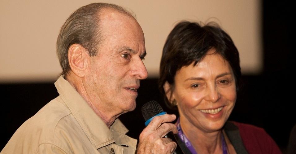 20.out.2013 - O cantor Ney Matogrosso apresenta o documentário