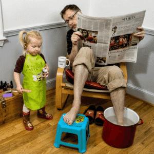 Home pedicure - Dave Engledow
