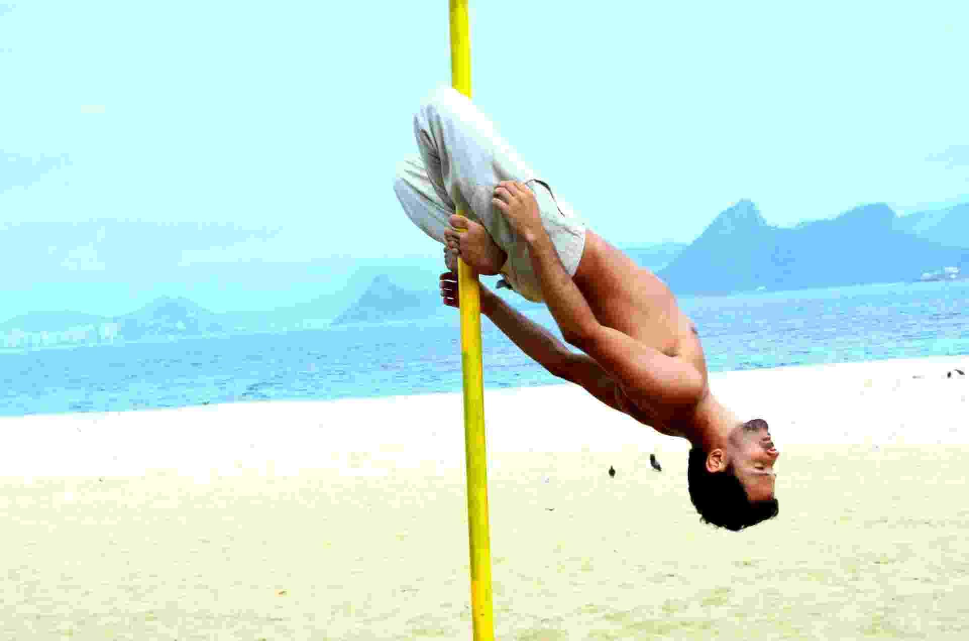 Julio Peixoto, 26 anos, de Petrópolis, campeão brasileiro em 2010 e 2011 - Leonardo Pergaminho/Arquivo pessoal