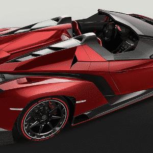 Lamborghini Veneno Roadster - Divulgação