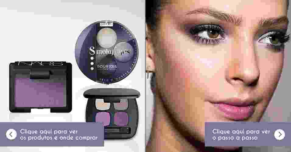 Maquiagem lilás/malva - Adriano Vieira/UOL