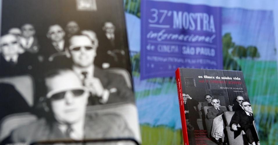 21.out.2013 - Mostra de São Paulo lança no Espaço Itaú Augusta o livro
