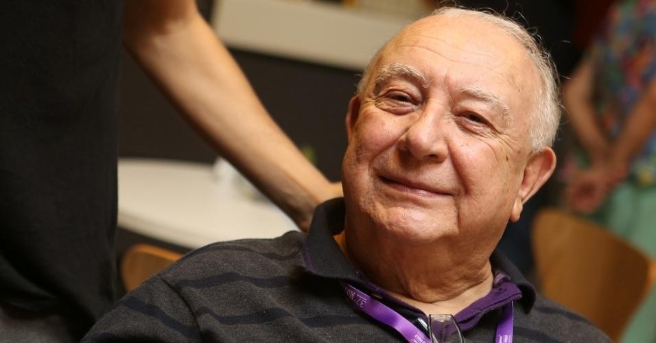 21.out.2013 - O ator Sérgio Mamberti, que está no elenco de