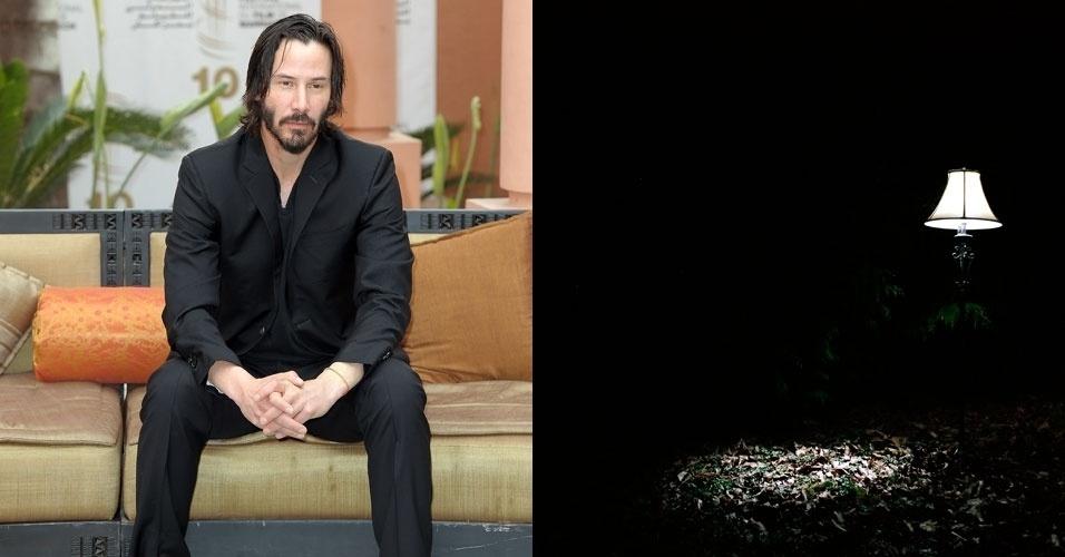 Keanu Reeves pode encenar com diversos efeitos especiais como os de