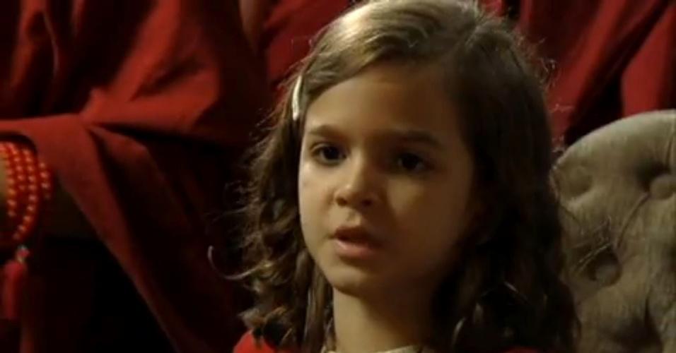"""Em """"Joia Rara"""", Manfred defende Amélia e diz que Pérola tem que ficar com a mãe"""