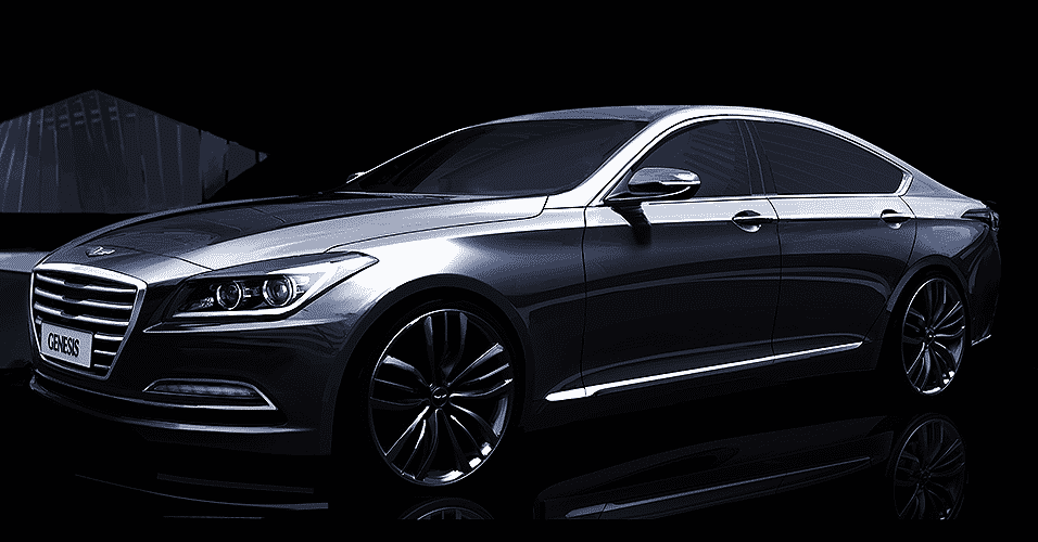 Hyundai Genesis 2015 - Divulgação