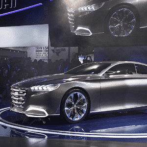Hyundai HCD-14 concept - Bill Pugliano/Getty Images/AFP