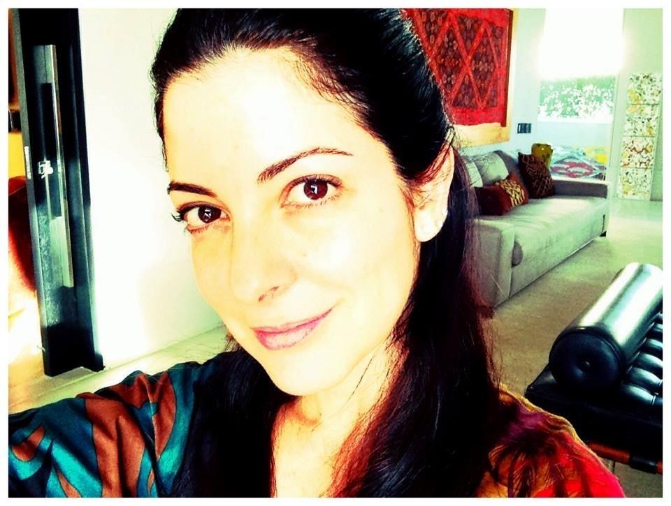 20.out.2013- Ana Paula em foto cinco dias após a cirurgia: