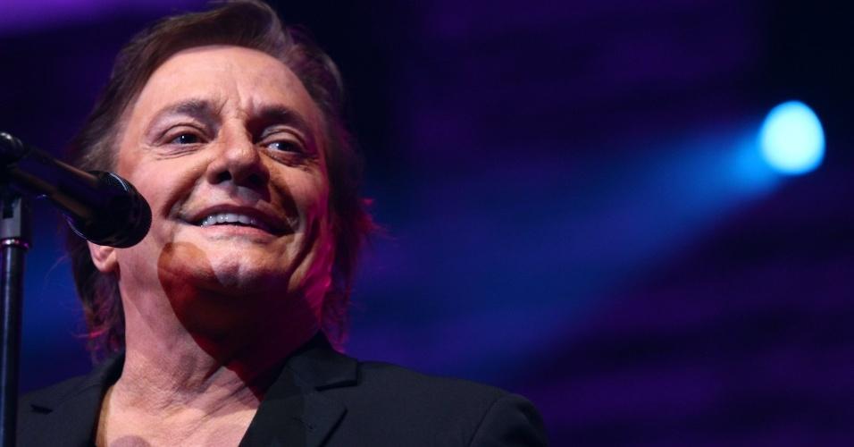 25.out.2013 - O cantor Fábio Jr. faz show no Citibank Hall na Barra da Tijuca no Rio de Janeiro