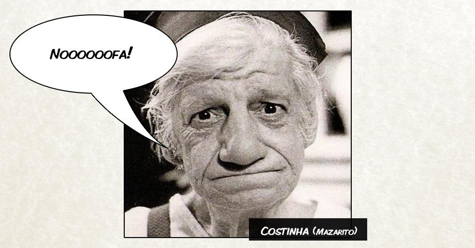 """Costinha (Mazarito) - """"Noooooofa!"""""""