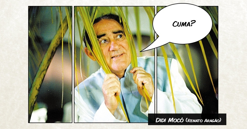 """Didi Mocó (Renato Aragão) - """"Cuma?"""""""