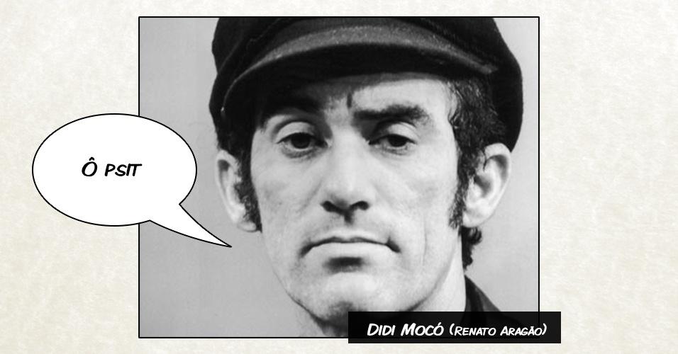 "Didi Mocó (Renato Aragão) - ""Ô psit"""